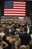 U S Obiecujący Prezydenci Bernie Sanders wiec zdjęcia stock