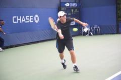 U. S. Open Tennis - Dennis Novikov Royalty Free Stock Image