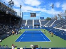 U. S. Open Tennis Grandstand Court Stock Photos