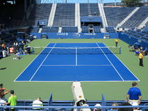 U. S. Open Tennis Grandstand Court Royalty Free Stock Photos