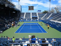 U. S. Open Tennis Grandstand Court Royalty Free Stock Photo