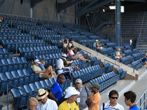U. S. Open Tennis Grandstand Court Royalty Free Stock Image