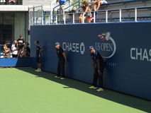 U. S. Open Tennis Linesmen Royalty Free Stock Images