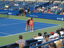 U. S. Open Tennis - Louis Armstrong Stadium Royalty Free Stock Photos