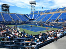 U. S. Open Tennis - Louis Armstrong Stadium Stock Photo