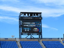 U. S. Open Tennis - Louis Armstrong Stadium Royalty Free Stock Photo
