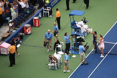 U. S. Open Tennis - Maria Sharapova Stock Images