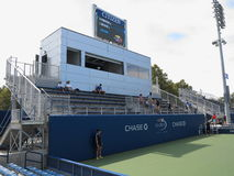 U. S. Open Tennis - Side Courts Royalty Free Stock Images