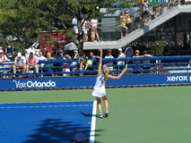 U. S. Open Tennis - Side Courts Stock Photos