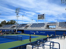 U. S. Open Tennis - Side Courts Royalty Free Stock Image