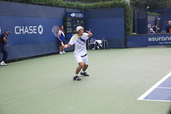 U. S. Open Tennis - Yasutaka Uchiyama Royalty Free Stock Photos
