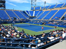 U S Otwiera tenisa - Louis Armstrong stadium fotografia royalty free