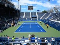U S Ouvrez la cour de tribune de tennis Photo libre de droits