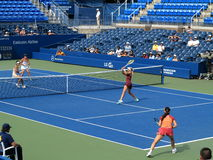 U S Ouvrez le tennis - Louis Armstrong Stadium photos stock