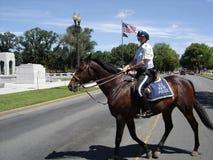 U S Parkpolitie Stock Foto