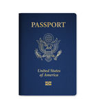 U.S. Passport with Microchip Royalty Free Stock Photo