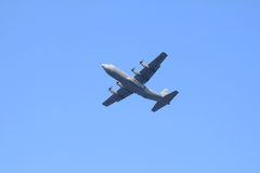 U.S. Plano de Hercules da força aérea em Holland Fotografia de Stock Royalty Free