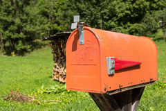 U S pole 3 d przedmiot odizolowane pocztę Obrazy Royalty Free
