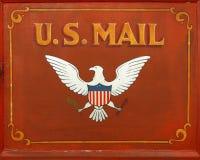 U.S. Post stock afbeelding