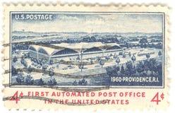 U.S. Post-Stempel Lizenzfreies Stockbild
