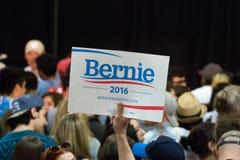 U S Präsidentschaftskandidat Bernie Sanders Rally stockbilder