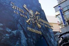U.S. premiere of `Pirates Of The Caribbean: Dead Men Tell No Tales` Stock Images