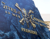 U.S. premiere of `Pirates Of The Caribbean: Dead Men Tell No Tales` Royalty Free Stock Photo
