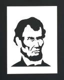U.S. President Abraham Lincoln Arkivfoton