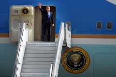 U.S. President George W. Bush bezoek aan Israël Royalty-vrije Stock Afbeeldingen