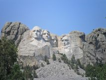 U S Presidentes no memorial do nacional do Monte Rushmore Fotografia de Stock