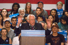 U.S. Presidential Hopeful Bernie Sanders Rally Stock Photography