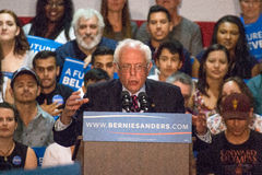 U.S. Presidential Hopeful Bernie Sanders Rally Stock Photos