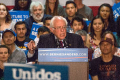U.S. Presidential Hopeful Bernie Sanders Rally Royalty Free Stock Images
