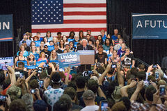 U.S. Presidential Hopeful Bernie Sanders Rally Royalty Free Stock Photography
