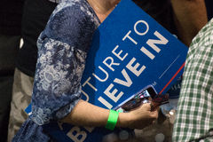 U.S. Presidential Hopeful Bernie Sanders Rally Stock Images