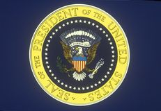 U S Prezydencka foka fotografia stock