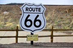 U S route 66 Royaltyfri Foto