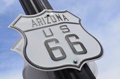 U S route 66 Arkivbild