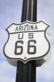U S route 66 Royaltyfri Fotografi