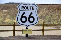 U.S. Route 66 Royalty Free Stock Photo