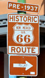 U.S. Route 66 Royalty Free Stock Photos