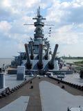 U S S Alabama pancernik Obraz Royalty Free