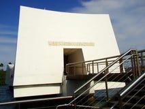 U.S.S. Arizona-Denkmal im Pearl Harbor, Oahu, HI stockfotos