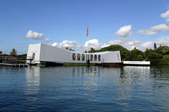 U.S.S. Arizona Memorial Royalty Free Stock Photography
