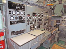 U.S.S. Growler: Control Room Royalty Free Stock Photography