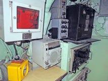 U.S.S. Growler: Radar Station Stock Images