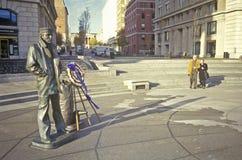 U.S. sailor statue, Washington, DC Royalty Free Stock Photos