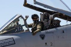 U S Salón aeronáutico de la fuerza aérea en Tucson, Arizona Imagenes de archivo