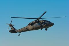 U S Schwarz-Falkehubschrauber Armee Sikorsky UH-60 Lizenzfreies Stockbild