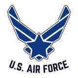 U S Selo do t-shirt do vintage da força aérea ilustração stock
